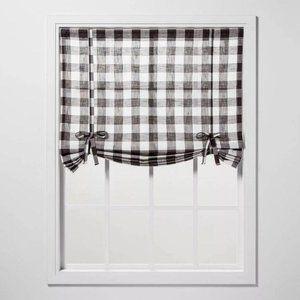 Curtain balloon window shade 42″ x 63″ semi sheer